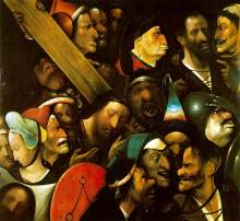 Hieronymus-Bosch-Christ-Carrying-the-Cross